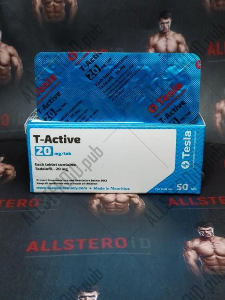 TESLA T-Active 20МГ/ТАБ  цена за 10 таб