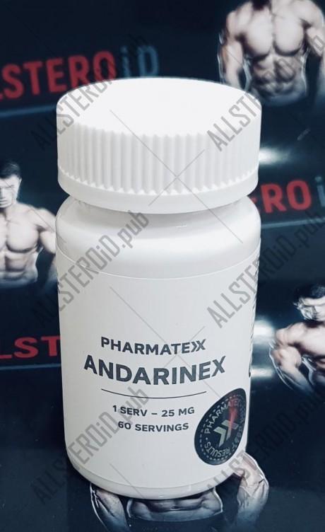 ANDARINEX 1 serv/25mg - ЦЕНА ЗА 60 ПОРЦИЙ