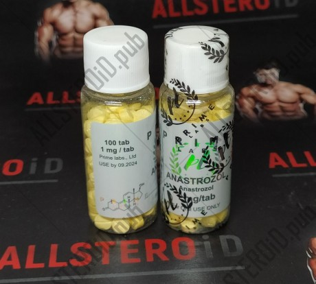 Prime Anastrazol 1mg/tab - ЦЕНА ЗА 50 ТАБ