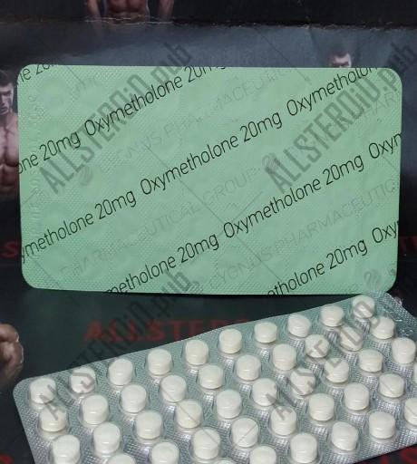 CYGNUS OXYMETHALONE 20mg/tab - ЦЕНА ЗА 50 ТАБ